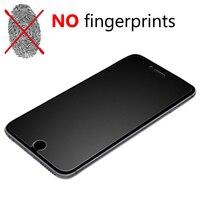 Protector de pantalla de vidrio templado para iphone, película de protección de vidrio templado mate esmerilado prémium para iphone 6s 6 7 8 plus 5S SE, 11 12 Pro X XS Max 9H