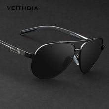 VEITHDIA Aluminium Magnesium Herren Sonnenbrille Polarisierte Objektiv Sonnenbrille Für Männer Brillen Zubehör oculos de sol masculino 2605
