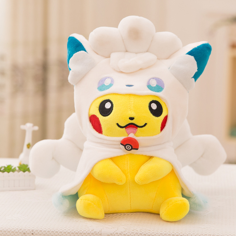 Pikachu Soft Stuffed Animals Plush Toys for kids children Kawaii | 30cm