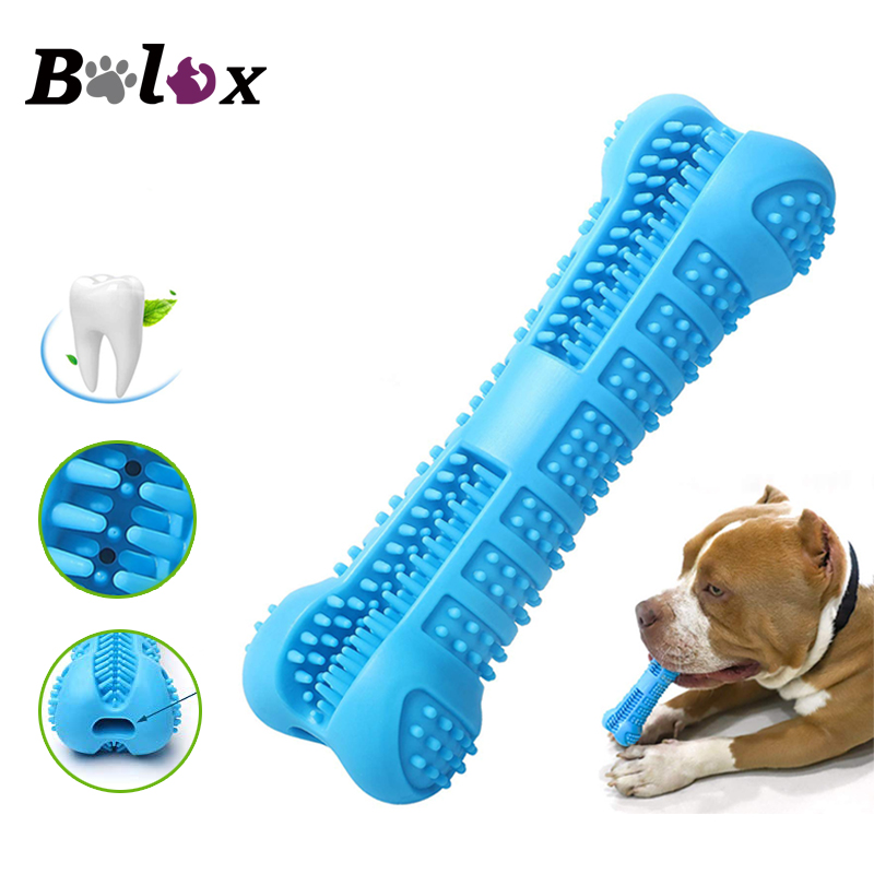 Dog Chew Toys Pet Molar Tooth Cleaner Brushing Stick Dog Toothbrush Doggy Puppy Dental Care Dog toy Pet Supplies image