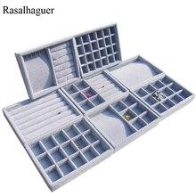 New Arrival DIY Jewelry Box Drawer Storage Organizer Gray So