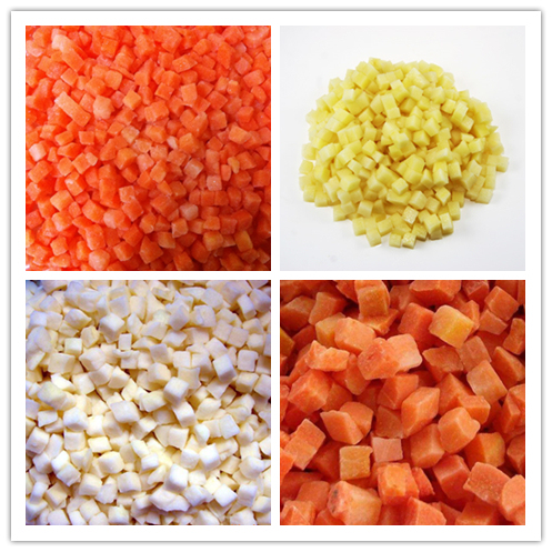 Stainless Steel Automatic Vegetable and Fruit Dicing Machine For sale