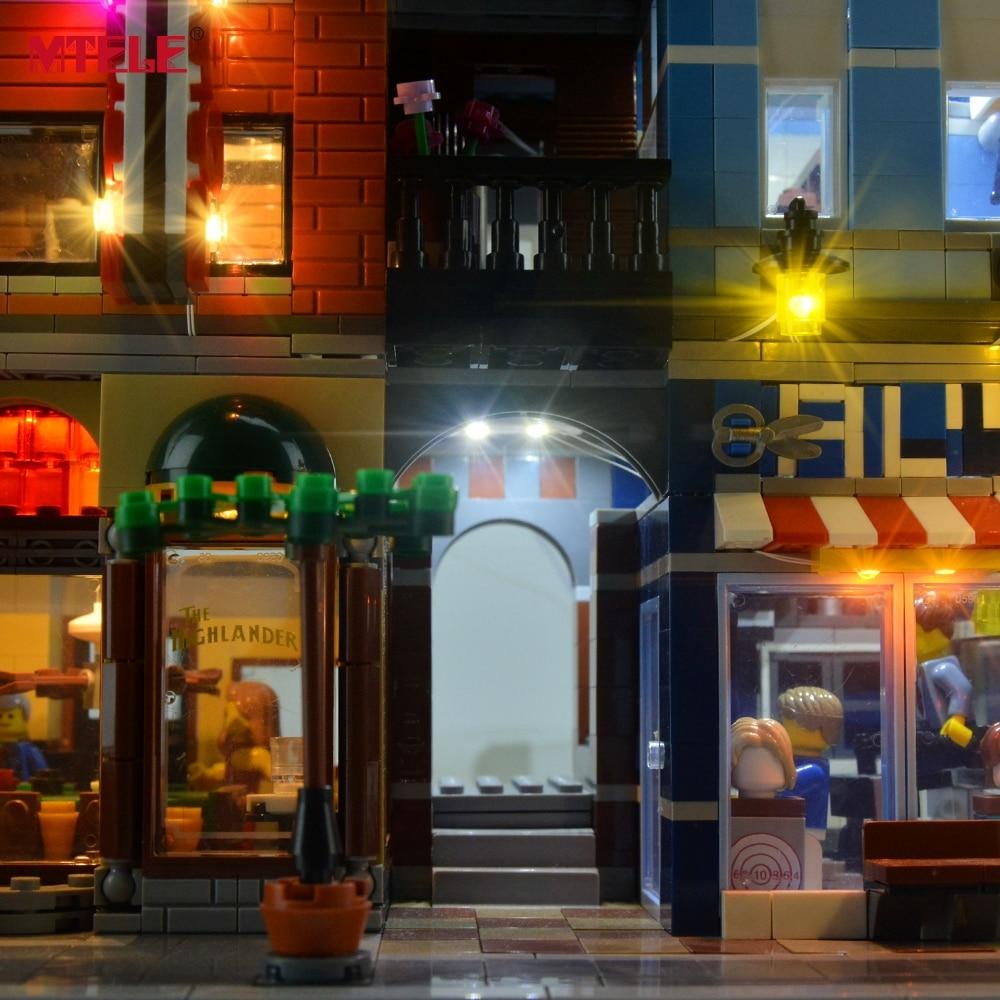 Komplet LED osvetlitve blagovne znamke MTELE za pisarniški komplet - Gradbeni igrače - Fotografija 6