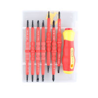 Multitul Hand Tool 15 In 1 Magnetic Precision Screwdriver Set Tool Kit Torx Cross Flat Y