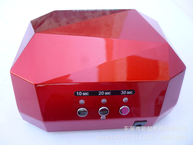 Fashion LED Nail Lamp Nail Dryer Diamond Light Nail phototherapy machine 36W Top Quality Induction Lamp