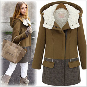 e7fa7ed7578bd Winter Coat Women Thickening Cotton padded Wool Coat
