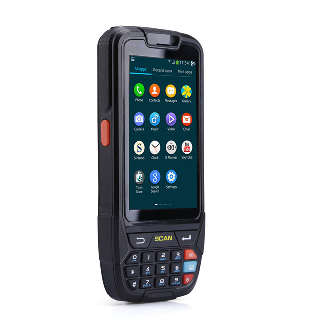 High Battery Capacity 4000mA Android Barcode Scanner Handheld Terminal PDA with 2D Barcode Scanning 4