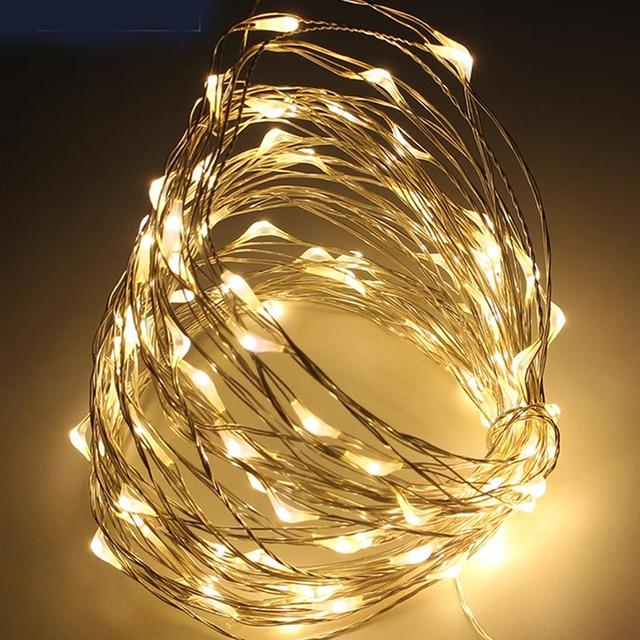 M LEDs Mini Decorative Indoor Christmas Party String Lights - Indoor christmas lights for bedroom