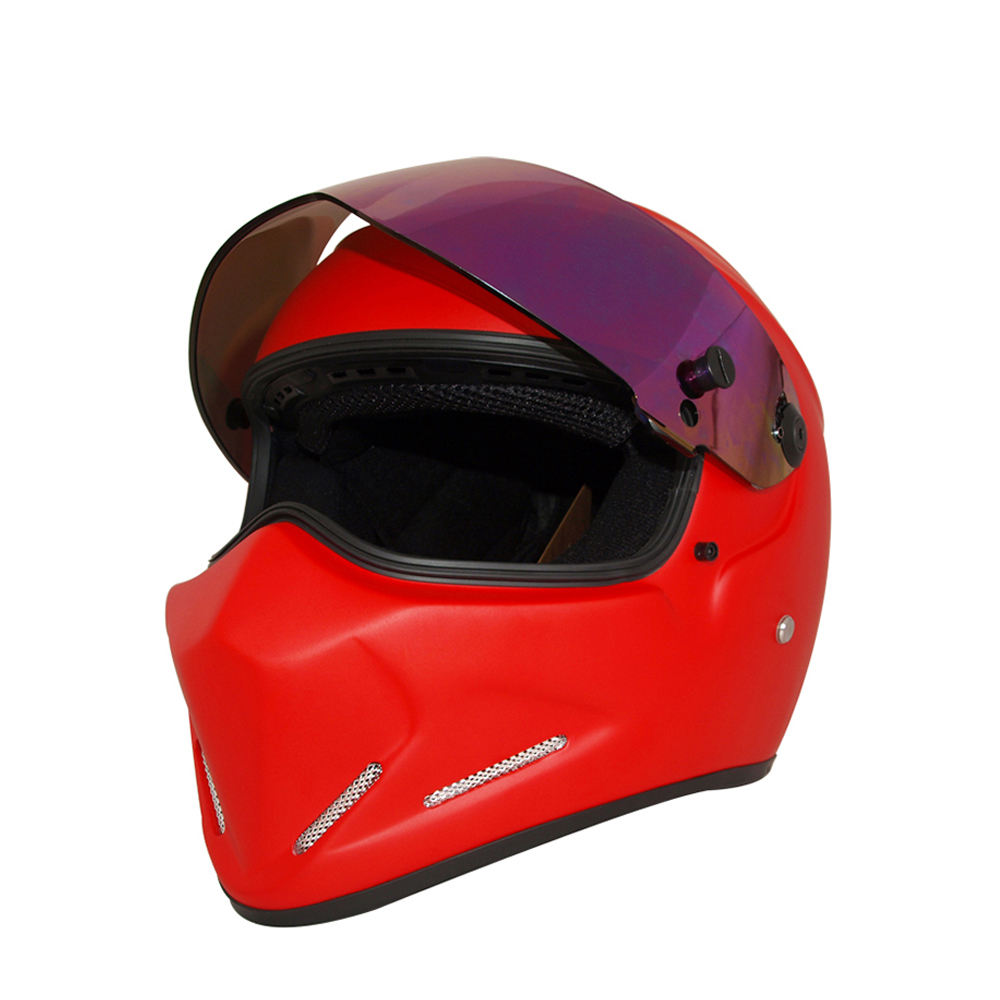 Herobiker Motorcycle Helmet Road Moto Full Face Helmet Street Bike Racing Motorbike Helmet with Dual Visor Sun Shield ATV4