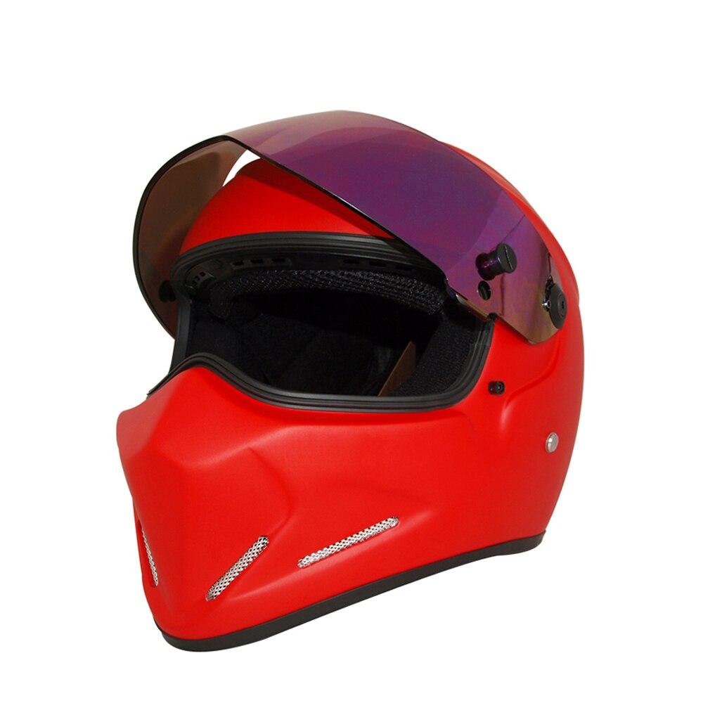 Herobiker Motorcycle <font><b>Helmet</b></font> Road Moto Full <font><b>Face</b></font> <font><b>Helmet</b></font> Street Bike Racing Motorbike <font><b>Helmet</b></font> with Dual Visor Sun Shield ATV4
