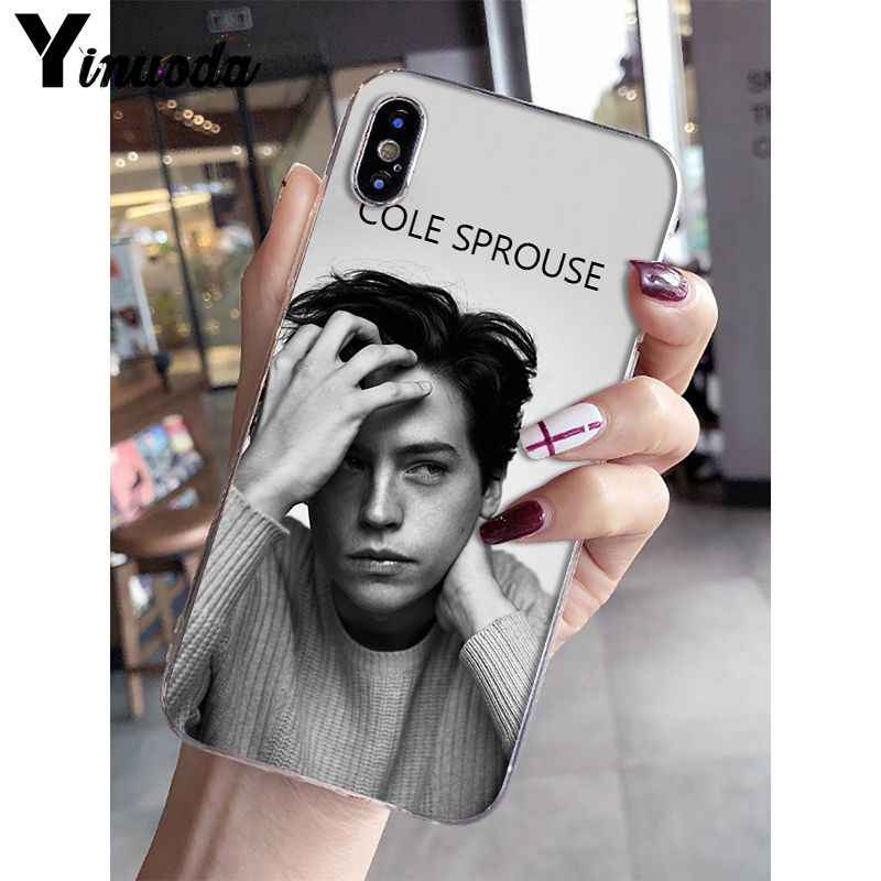 Yinuoda American TV Riverdale Jughead Jones Transparent Cell Phone Case for iPhone X XS MAX  6 6s 7 7plus 8 8Plus 5 5S SE XR