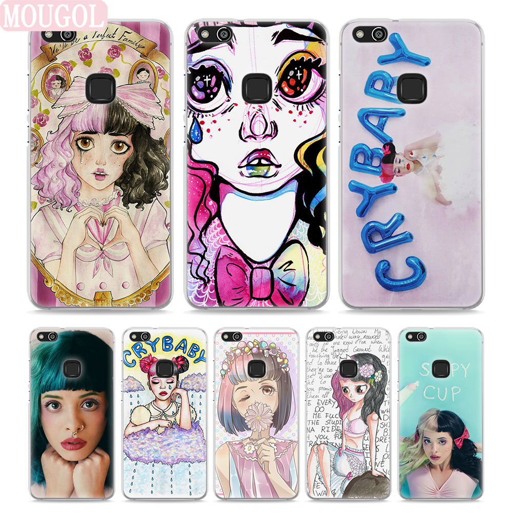 MOUGOL Melanie Martinez Cry Baby Style Thin transparent phone Cover Case for Huawei P10 P10lite P8 P9 lite Mate10 9