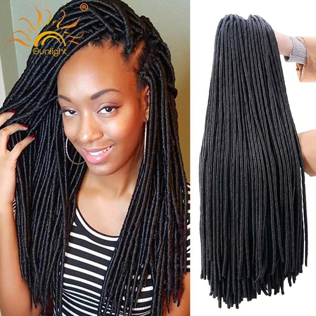 Dreadlocks Extensions Crochet Twist Hair 20 100g Faux Locs Afro