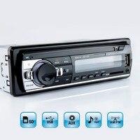 Viecar Lecteur MP3 FM De Voiture Radio Stéréo Audio Musique USB SD Numérique Bluetooth avec En Dash Fente Entrée AUX