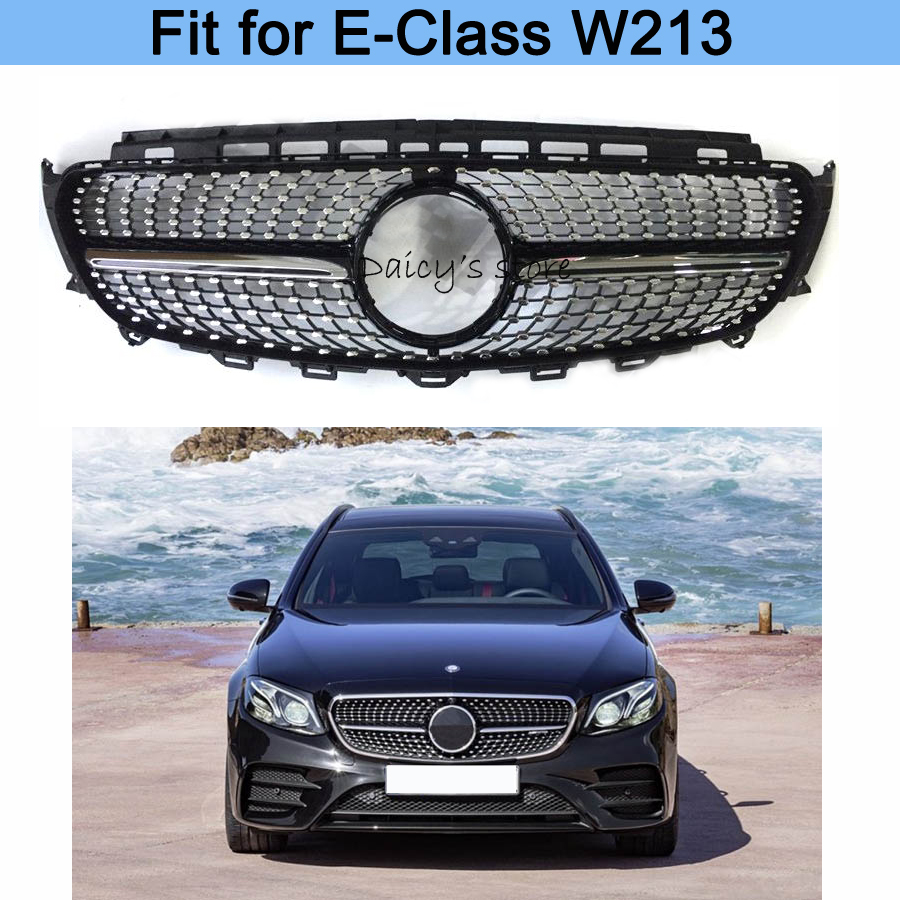 diamond grille e43 e450 front bumper grill suitable for. Black Bedroom Furniture Sets. Home Design Ideas