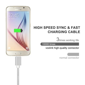 Image 3 - Nylon Micro USB Cable 2A Fast Charger USB Data Cable Mobile Phone USB Charger Cable For Samsung Galaxy Huawei