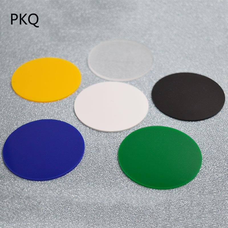 "1pc Acrylic Plastic Clear plexiglass 3//16/"" x 5/""  Circle Round  Sheet"