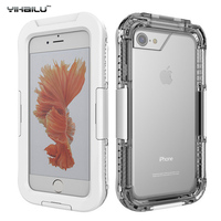 Waterproof Case For IPhone7 IP 68 Heavy Duty Hybrid Swimming Dive Hard Cover Water Dust Shock