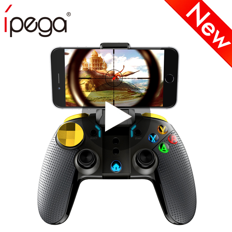 iPega Trigger Gaming Joystick For Android iPhone Cell Phone PC Computer Pubg Mobile Controller Gamepad Game Pad Fre Free Fire in Joysticks from Consumer Electronics