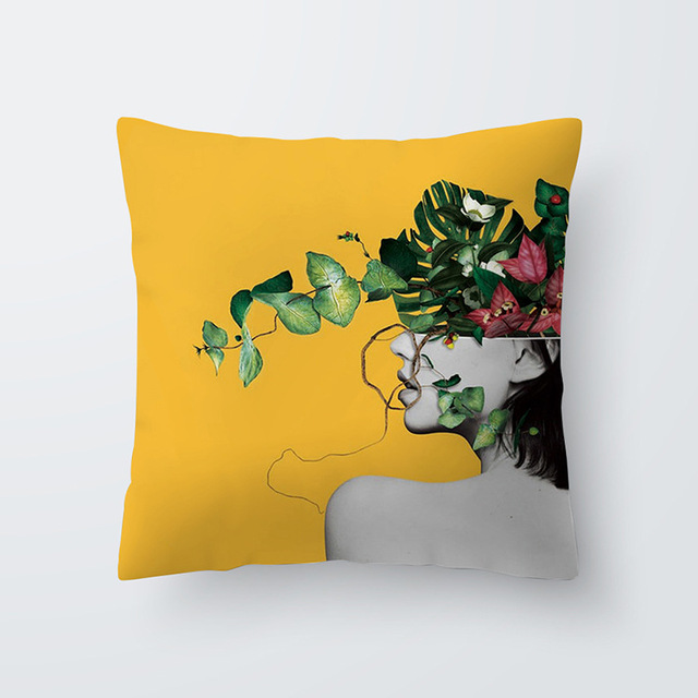 Yellow pillowcse 10