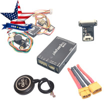 CUAV Pixhack V3 Flight Controller PIX Open Source + M8N GPS for FPV Drone Quadcopter Helicopter USA Stock