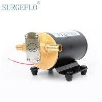 SURGEFLO Household DC Mini Electric Gear Pump Oil Car Fully Automatic Pumping Unit Fuel Transfer Pump