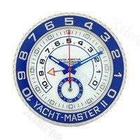 Wall Clocks with Corresponding Logos Art Relogio De Parede Horloge Decorativo Luxury Metal Watch Shape Wall Clcok for Best Gift
