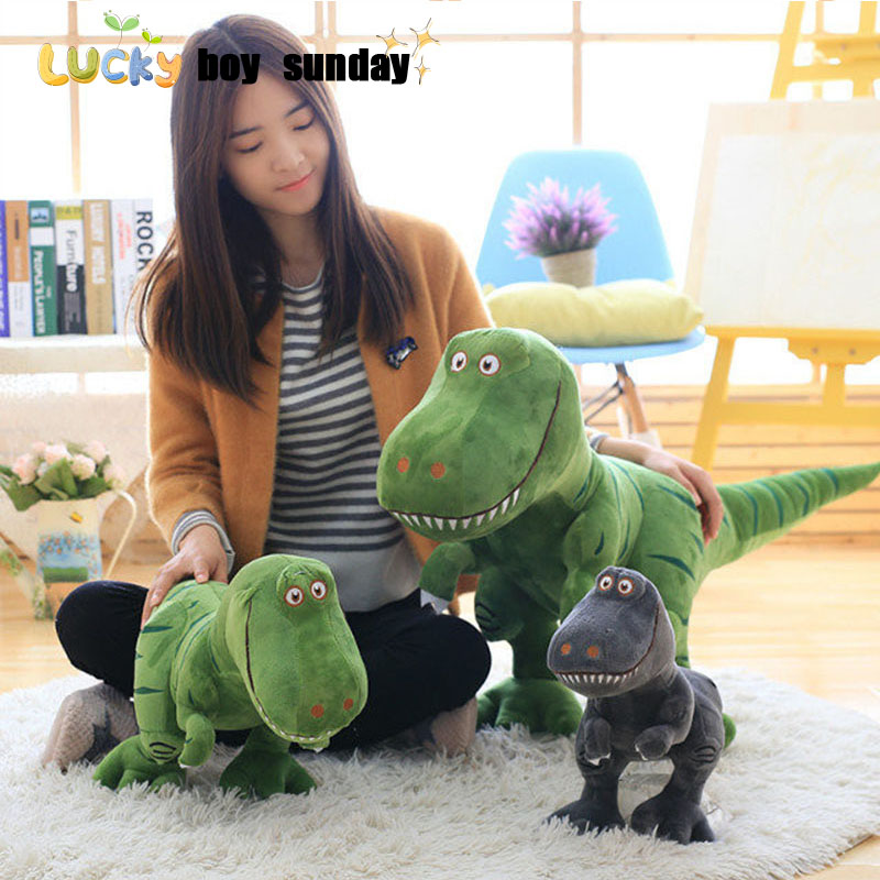 Dinosaur Toy Stuffed Soft Dinosaurus Speelgoed Action Figure Animal Dinosaurio Doll Learning & Educational Kids Toys learning through action learning
