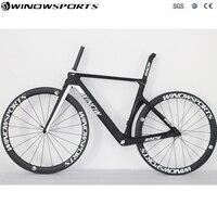 2018 Aero Road Bike Winow Brand 700C Carbon Road Complete Bike 22 Speed 105 5800 Groupset