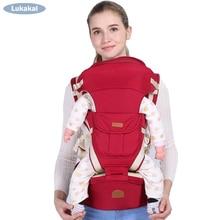 Купить с кэшбэком 3-36 months best baby carrier for new born Ergonomic 360 infant carrier load bearing Multifunction fashion 20Kg backpack