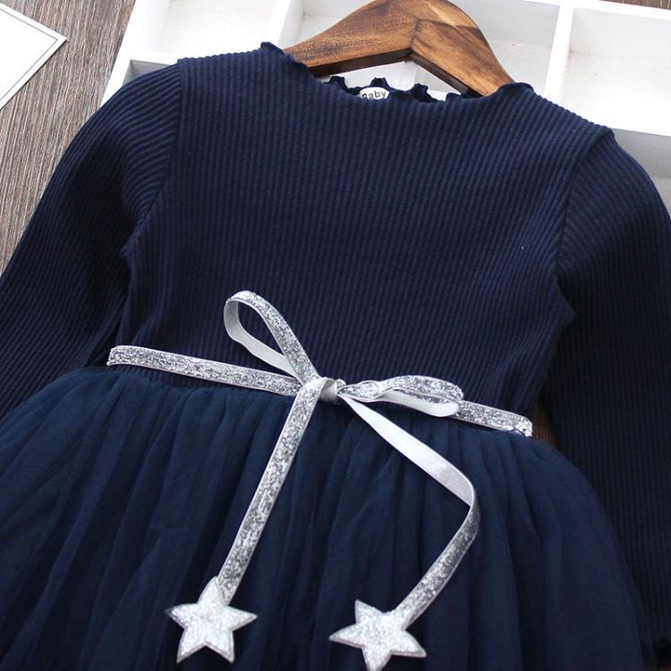 HTB1grlCaNz1gK0jSZSgq6yvwpXam 3-8 Years Girls Dress Long Sleeve Kids Unicorn Party Vestidos Fancy Children Princess Dresses Kids Birthday Dress For Girl