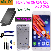 5.2 NEW Original screen for Vivo X6 X6A X6S X6L X6D LCD Full Touch Display screen touch for Vivo X6 screen X6 X6A X6S X6L X6D new touch screen 4pp120 0571 k01