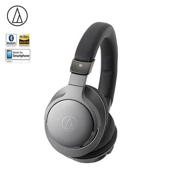 Original Audio Technica ATH-AR5BT Bluetooth Earphone Music Wired/Wireless Folding Headphone With Remote Control Mic Hi-Res Hifi