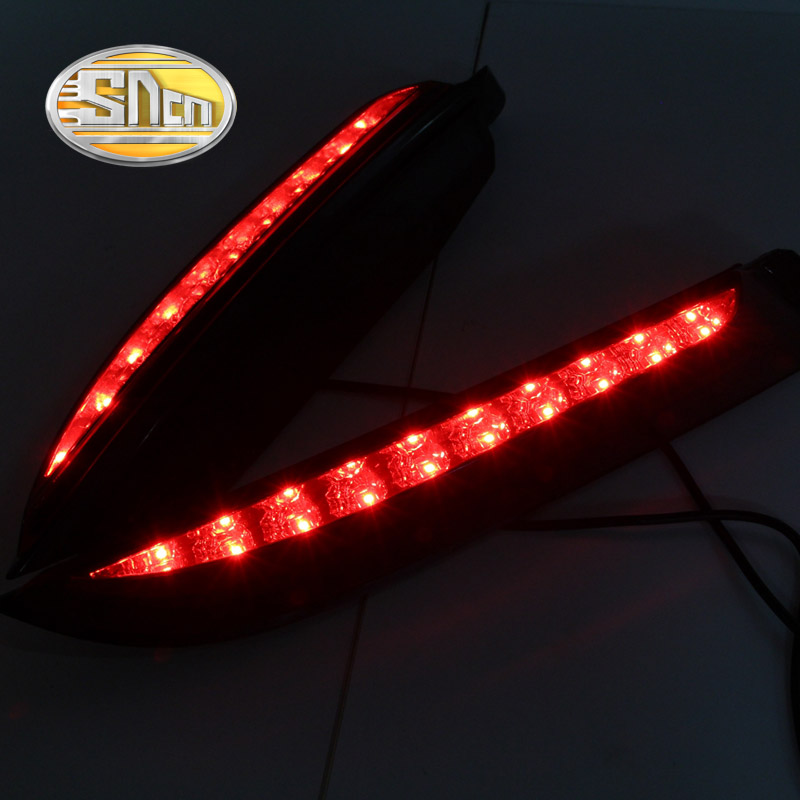 SNCN Multi-functions Car LED Rear Fog Lamp Brake Light Pillar Light Auto Bulb Decoration Lamp For Ford Everest 2016 2017 фитокашленок сироп д детей 100мл