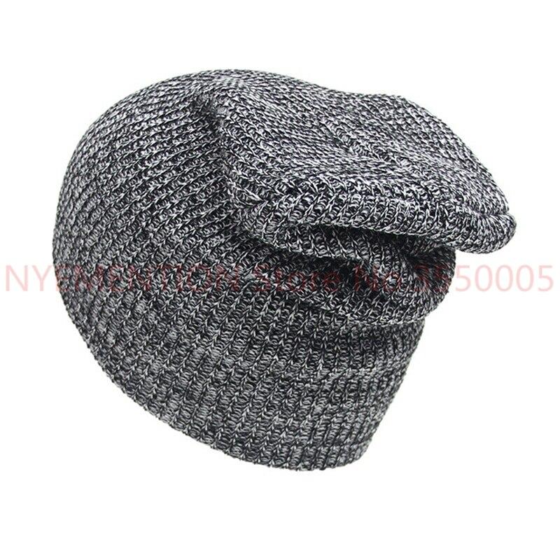 Unisex Hat Winter Hats Cap Men Women Hats Stripe Knitted Hip Hop Male Female Warm Winter Hats 20pcs