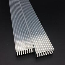Dissipador de calor de alumínio led de alta potência 300mm * 25mm * 12mm para 1w, 3w, diodo emissor de led 5w