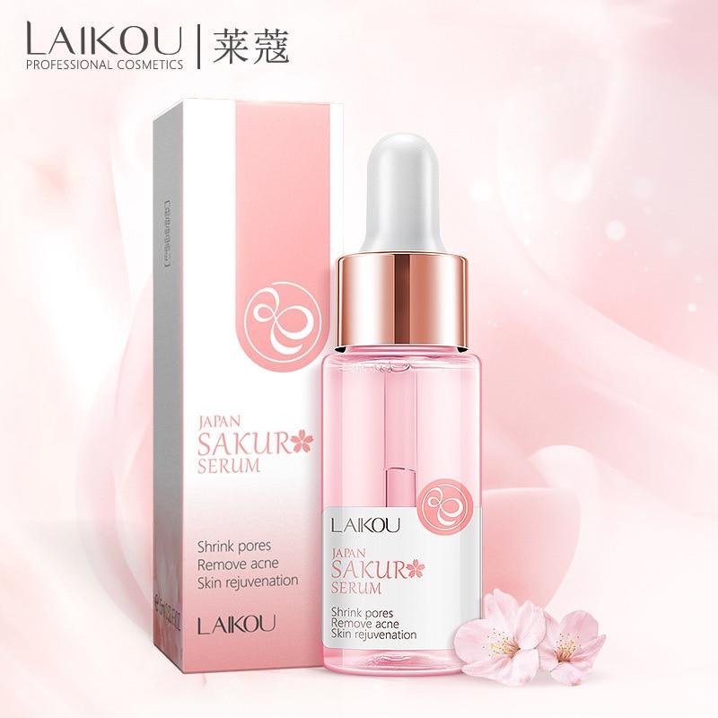 24K Gold Vitamin C Whitening Serum Hyaluronic Acid+New Makeup Base Whitening Essence Cherry Primer Makeup Face Care Anti Wrinkle