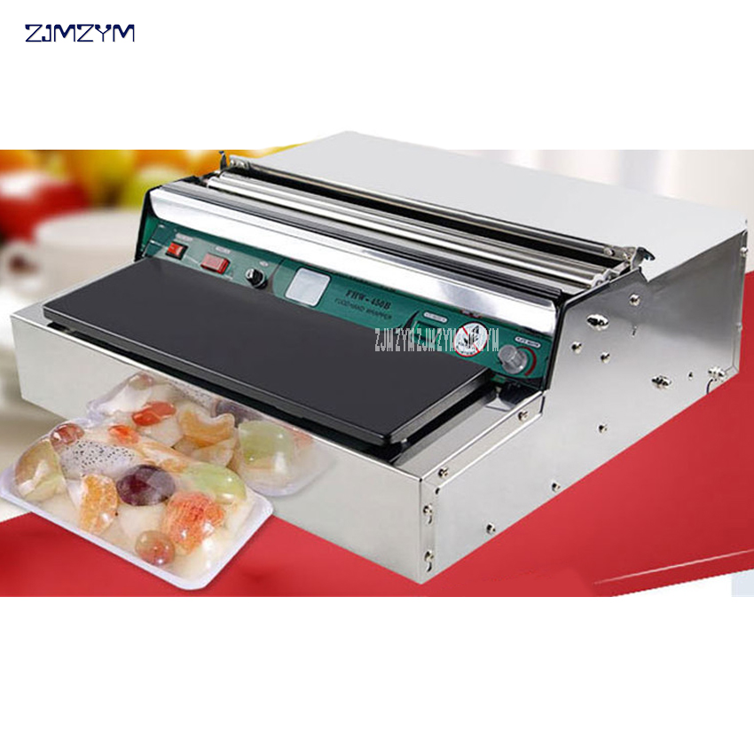 1pcs Film packaging machine, cold fresh food packaging machine, sealing packing machine