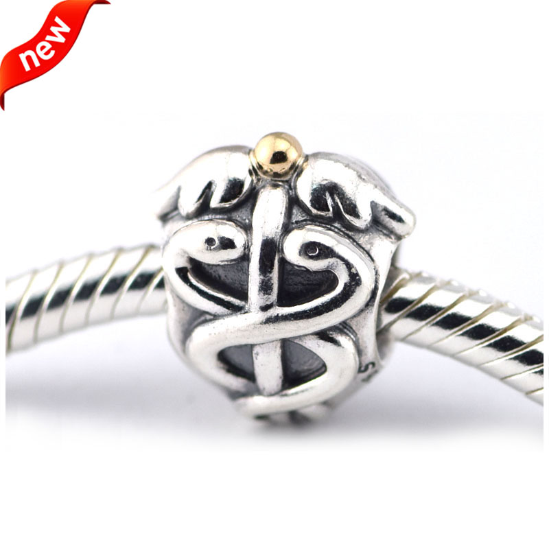 Pandora Jewelry Free Shipping: Fits For Pandora Charms Bracelets Life Saver Caduceus