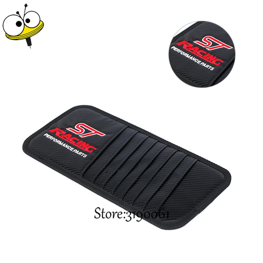 ST Racing Car <font><b>Seat</b></font> Back Boot Organizer Car Filler Covers Storage Container Bag For Ford Focus Kuga Taurus Fusion <font><b>Ranger</b></font> Mondeo