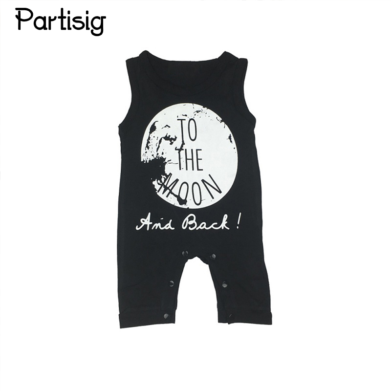 Značka Baby Rompers Bavlna bez rukávů Romper Jumpsuit Letní dětské oblečení pro chlapce a dívky Bebe De Roupa