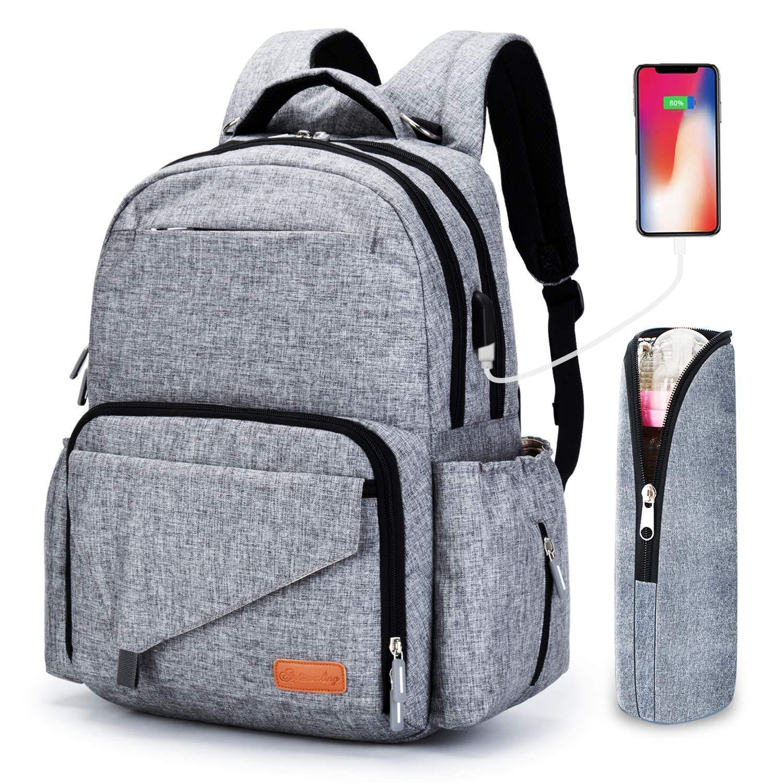 2019 Simple Business Mummy Bag Multifunction Diaper Bag Large Capacity Bag For Mom Fashion Baby Stroller Bag Hanimom