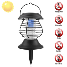 Solar power Electric Mosquito Killing Repelente Mosquito Insect Killer Lamp Pest Control Moth Wasp Fly Electric Mosquito Killer(China)