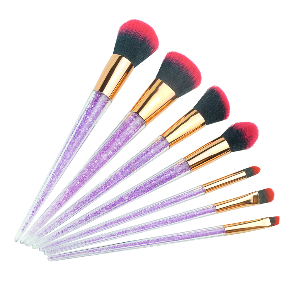 Rhinestone Brushes Set Unicorn Makeup Brush Diamond ...