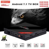 Genuine H96 Pro Tv Box Android 7 1 Smart Mini 3GB 32GB 3GB 64GB Amlogic