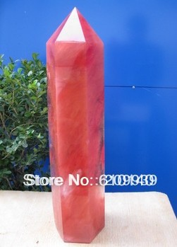 free shipping 0045 SMELT QUARTZ CRYSTAL RED POINT HEALINGfree shipping 0045 SMELT QUARTZ CRYSTAL RED POINT HEALING