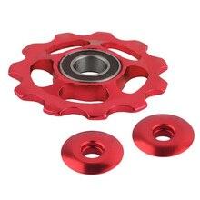 11 зуб MTB керамический подшипник Jockey колесный шкив дорожный велосипедный переключатель аксессуары JT-Прямая поставка