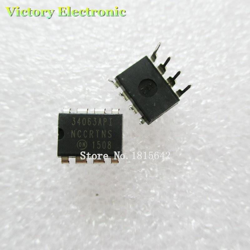10PCS/Lot MC34063 MC34063A MC34063API 34063 DIP-8 Power Chips