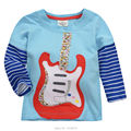 18M~6T, High Quality 100% Cotton Brand Baby Boys Clothing Children's Kids Clothes T Shirts Tees T-Shirts Boys Long Sleeve Shirts