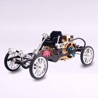 HowPlay одноцилиндровый электрический двигатель Автомобиль DIY металлический сборка модель механическая сборка винтажный автомобиль взрослые